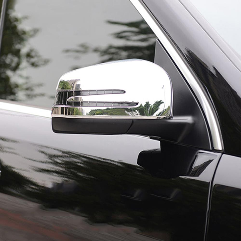 Rearview Side Mirrors Cover trim for 2016 2017 BMW X1 F48 ABS Mirror