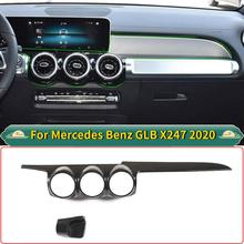For Mercedes Benz GLB X247 2020 ABS Car Dashboard Central Control Air Conditioner Outlet Vent Cover Trim Car Accessories For LHD