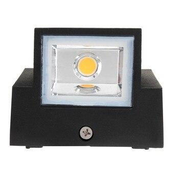 6w 12w Moderna Semplice Creativo Esterno Impermeabile Lampada Da Parete A Led Per Esterni Lampade Cortile Cancello Lampada Terrazza Balcone Giardino