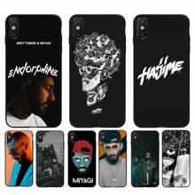 Babaite miyagi endshpiel rapper macio caso de telefone capa para iphone 11 12 pro max x xs max 6s 7 8 plus 5 5S 5se xr se2020