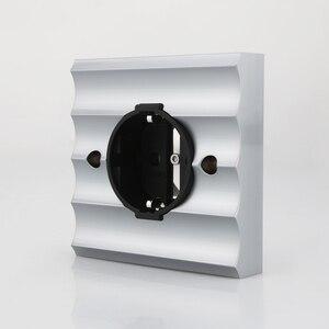 Image 5 - Viborg ve02r cobre puro ródio chapeado schuko soquetes schuko elétrica alemão europeu tomada de energia placa de parede 250v 16a