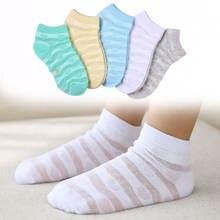 Тонкие сетчатые носки с сердечками для мальчиков и девочек 1