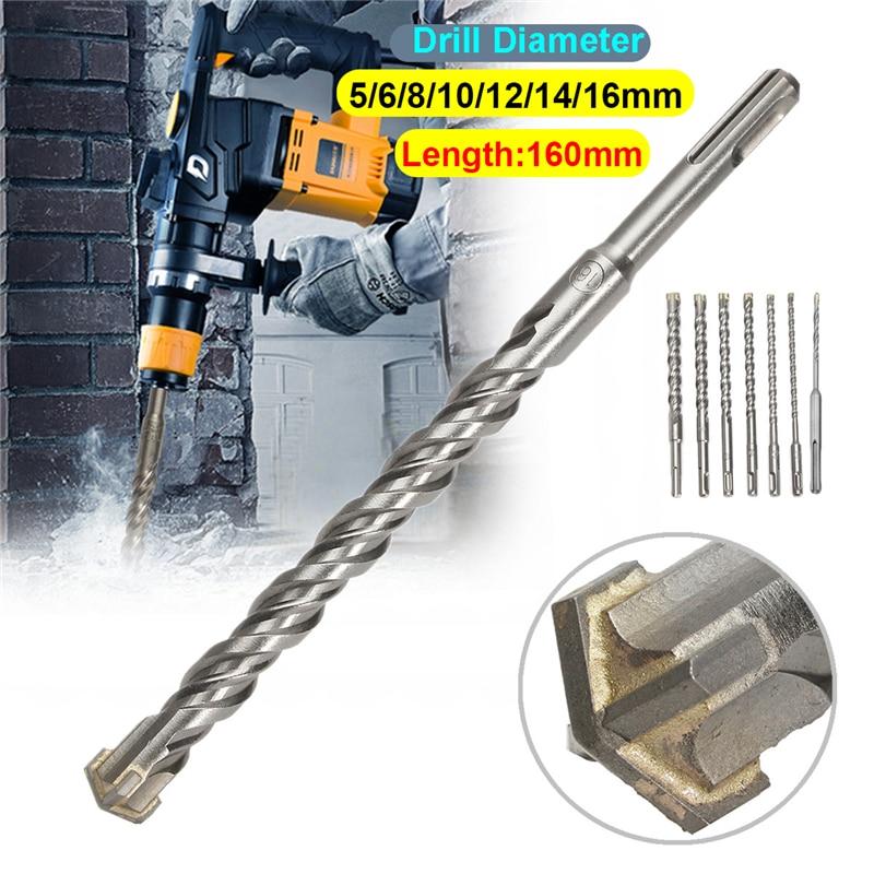 Bohrer Bits Schwarz Schnellarbeitsstahl Stickstoff Sechskant 4mm Ersatz