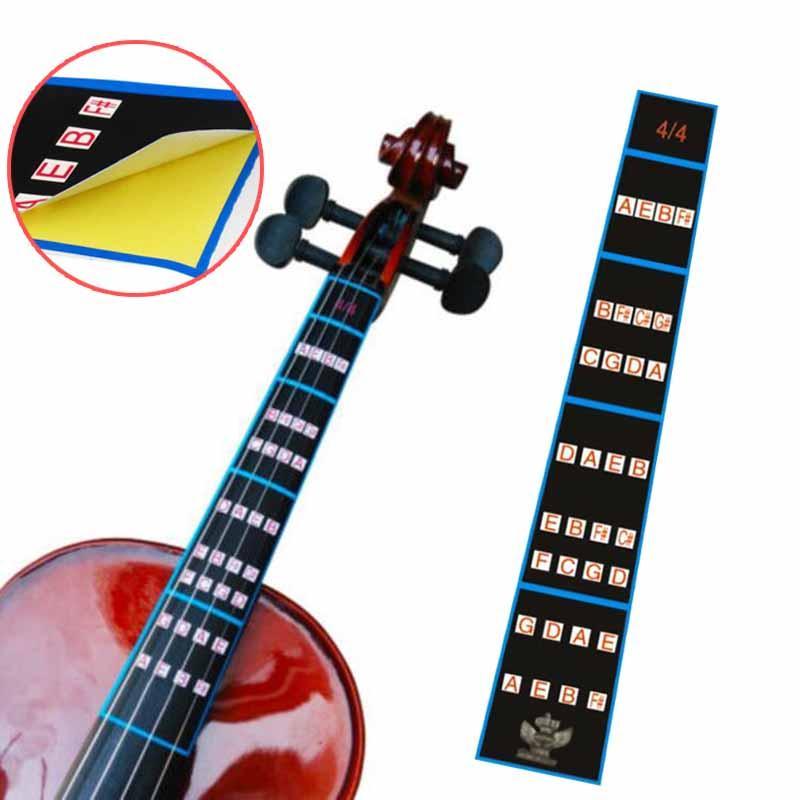 Violin Fiddle Position Marker Tape Violin Sticker Fretboard Bande Finger Marker