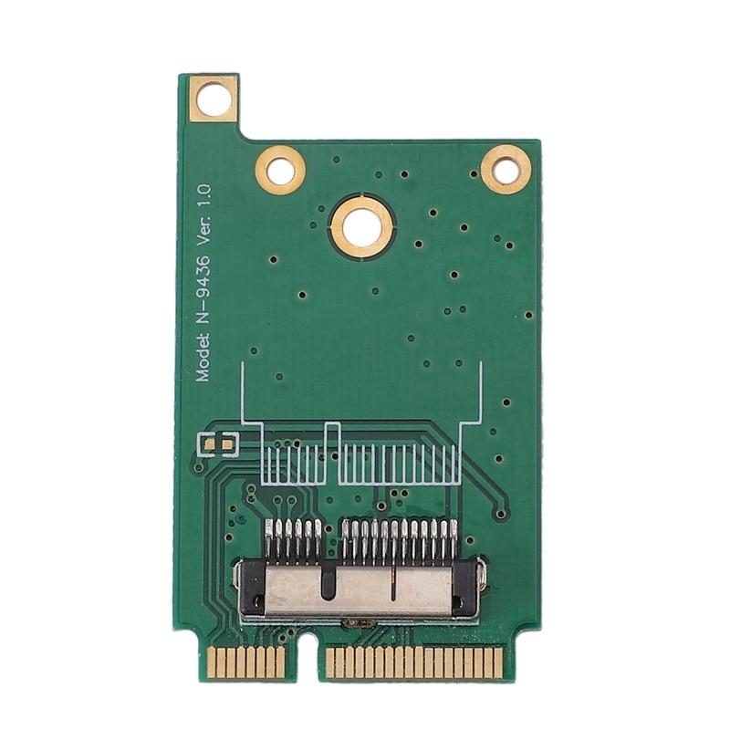 Mini PCI-E Converter Adapter Card 52-Pin Mini PCI Express Adapter Module For Apple BCM94360CD BCM94331 BCM943602CS BCM94360CSAX