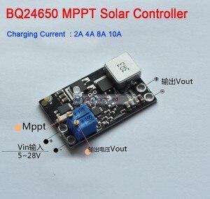 Image 1 - Dykb BQ24650 10A mpptソーラーパネルコントローラリチウム電池リチウムイオンLiFePO4 鉛酸充電 12v 24v降圧モジュール調整可能な