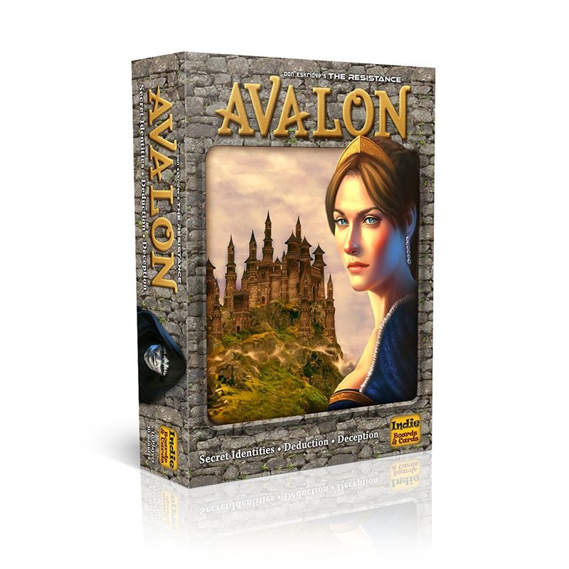 New Resistance Avalon Indie Family Interactive Full English Board Game Card Children's Educational Toys