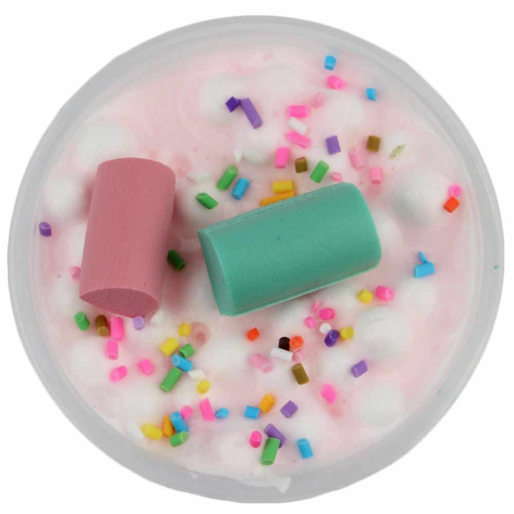 Хлопок, конфеты, облако, глина, слизь DIY, Хрустальная глина, смешивание, вспенивающие шарики цвета грязи, слизь, детская игрушка, воображение, творчество, ремесло, подарок для детей