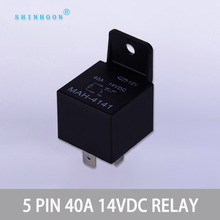 DC Automotive 12V relay 24V 28V light 30A relay 4 Pin 5 Pin 40A 12V Waterproof Car Relay