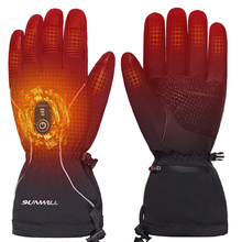 Heated-Gloves Motorcyle Electric-Battery Sports Winter Outdoor Temperature-Control