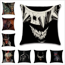 The Batman Who Laughs joker comic cushion Cover Decoration Home sofa chair seat children bedroom gift friend present pillowcase h c o huss the man who laughs volume 2