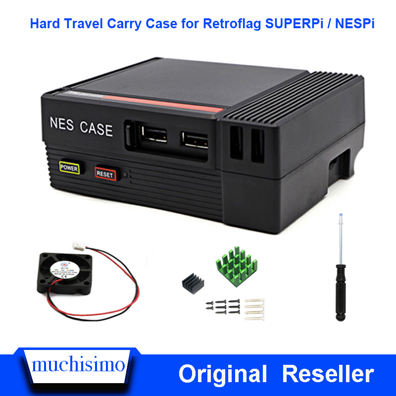 Mini NESPI CASE Package For Raspberry Pi 3 2 B And NES Classic Mini For RetroPie Raspberry Pi 3/2/B+
