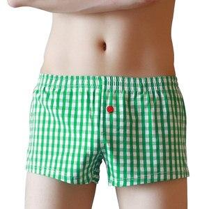Image 2 - Soutong Quần Lót Nam 3 cái/lốc Quần Lót Nam Boxer Quần Lót Cotton Homewear Quần Lót ropa nội thất Hombre Cueca Võ Sĩ