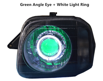 Colorful Angle Eyes lamp for Suzuki Jimny with Colorful Light Ring Led Lens Head Light 4x4 off road accessories
