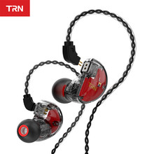 Trn v30 2ba 1dd híbrido no ouvido fone de ouvido iem alta fidelidade monito esporte fone de ouvido 3 unidade fone de ouvido 2pin destacável trn v80/im1vx m10