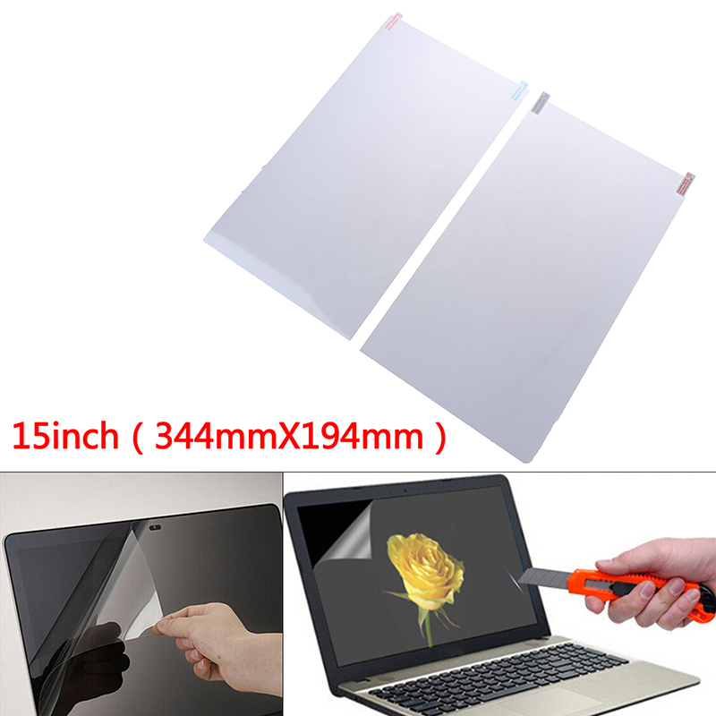 Ultra-thin Crystal Clear Film Screen Guard Protector Laptop Cover For 15 Inch Laptop Screen Protector HD Scratch Proof