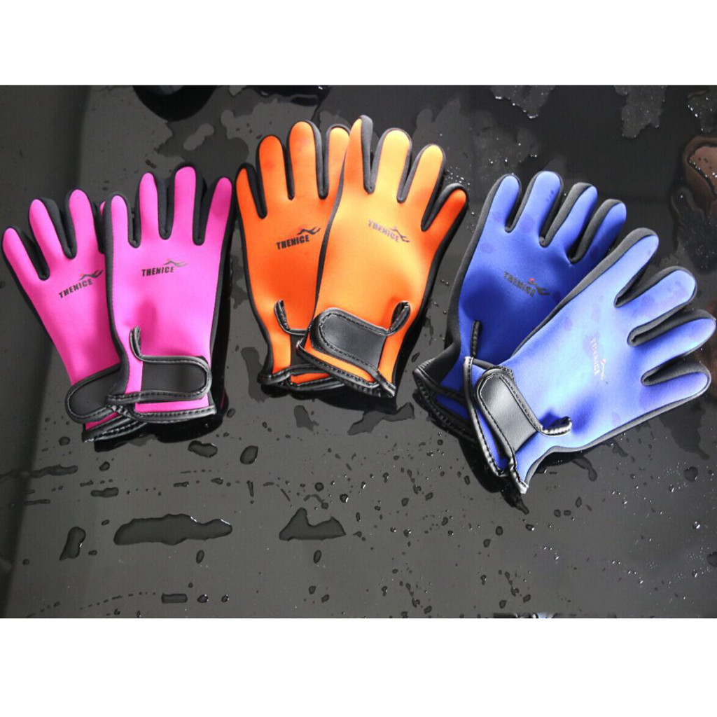 Scuba Diving Gloves Non-slip Snorkeling Submersible Supplies Surfing Swimming Gloves Anti-scratch Warm Diving Equipment