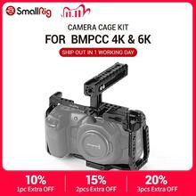SmallRig BMPCC 4 K Cage Kit for Blackmagic Design Pocket Cinema Camera 4K BMPCC 4K / BMPCC 6K Comes with Nato Handle SSD Mount
