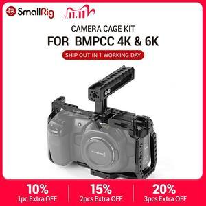 Image 1 - SmallRig BMPCC 4 K Cage Kit for Blackmagic Design Pocket Cinema Camera 4K BMPCC 4K / BMPCC 6K Comes with Nato Handle SSD Mount