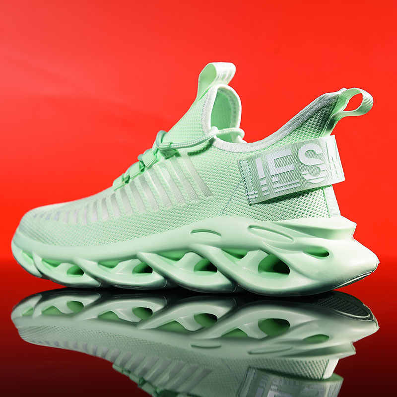 Loopschoenen Voor Man 2019 Zomer Sportschoenen Mannen Jogging Schoeisel Buiten Lichtgewicht Ademende Mannen Schoenen Sok Mannen Sneakers