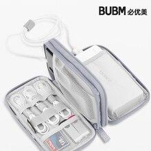 Защитный чехол для портативного зарядного устройства BUBM, сумка для переноски внешнего аккумулятора, жесткий органайзер для кабеля футляр д...