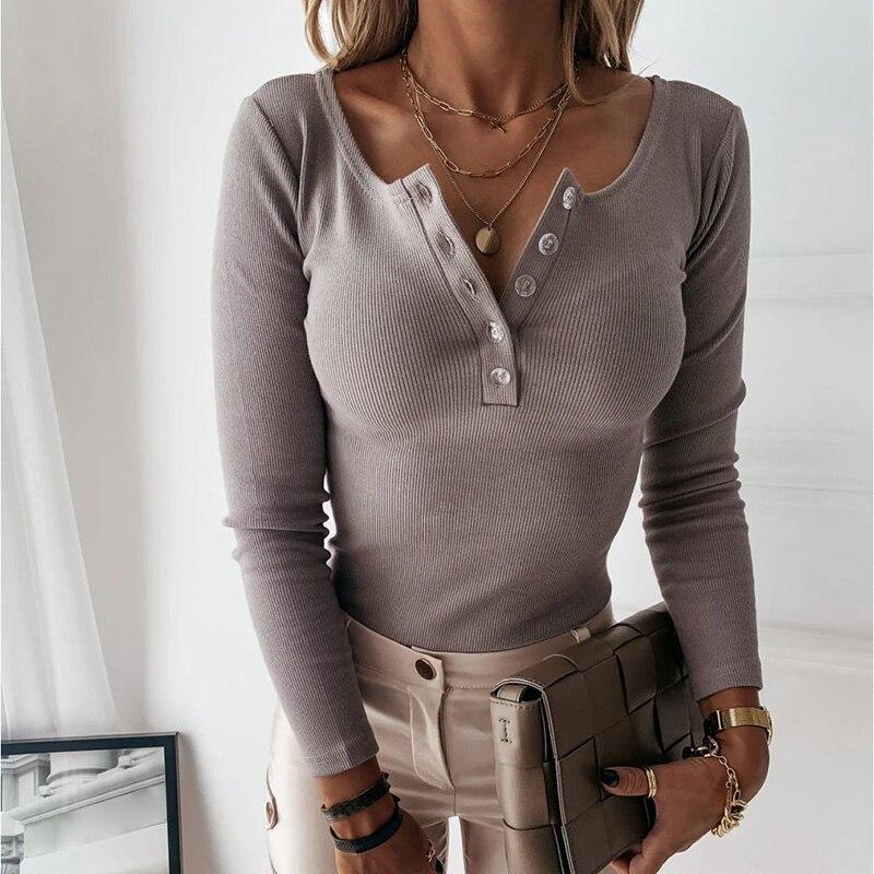 Женская трикотажная футболка wannathis с длинными рукавами и