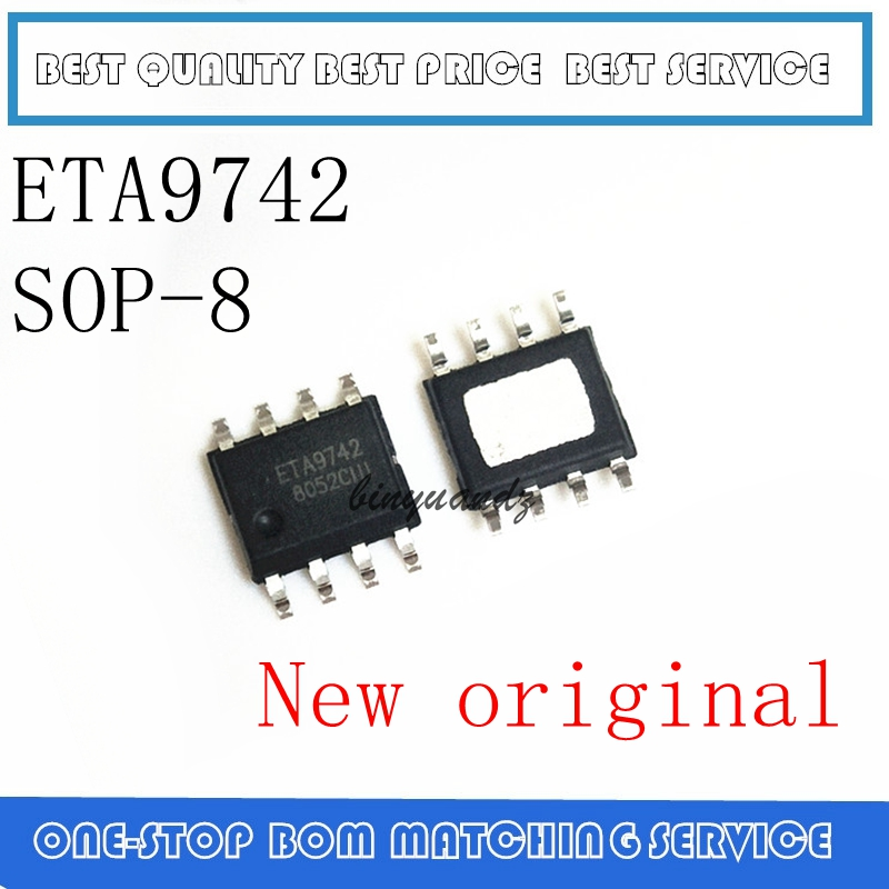 1PCS  ETA9742  9742 SOP-8 NEW  High Current Synchronous Rectifier IC