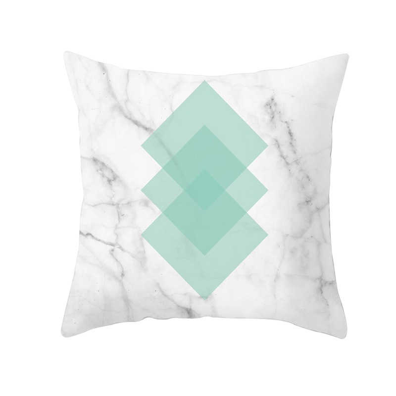 Mint Green Blue Geometric Cushion Covers Modern Nordic Throw Pillows Decor New