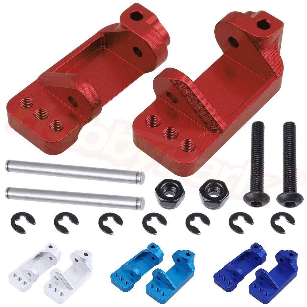Aluminum Steering Caster Blocks Base C Carrier For Traxxas Slash 2WD 1/10 Short Course Stampede 2WD / Rustler VXL Upgrade Parts