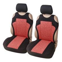T-shirt Auto Sitz Abdeckung Atmungsaktiv Vorne Sitzbezüge Polyestor Für Chevrolet Onix Für Hyundai HB20 Für Lkw Für SUV Mode