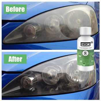 Car Headlight Repair Liquid Auto Polishing Cleaning For Volkswagen POLO Golf 5 6 7 Passat B5 B6 B7 Bora MK5 MK6 Tiguan image