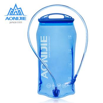 AONIJIE SD51 zbiornik na wodę pęcherz wodny plecak z systemem hydracyjnym worek do przechowywania BPA Free #8211 1L 1 5l 2L 3L Running Hydration Vest plecak tanie i dobre opinie 1 5L CN (pochodzenie) 120g 140g 150g 160g 1L 1 5L 2L 3L -20 to 50 degree centigrade