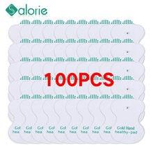 100 sztuk dziesiątki elektrody podkładki przewodzące podkładka żelowa terapia akupunkturą masaż terapeutyczny masaż Electro Pads
