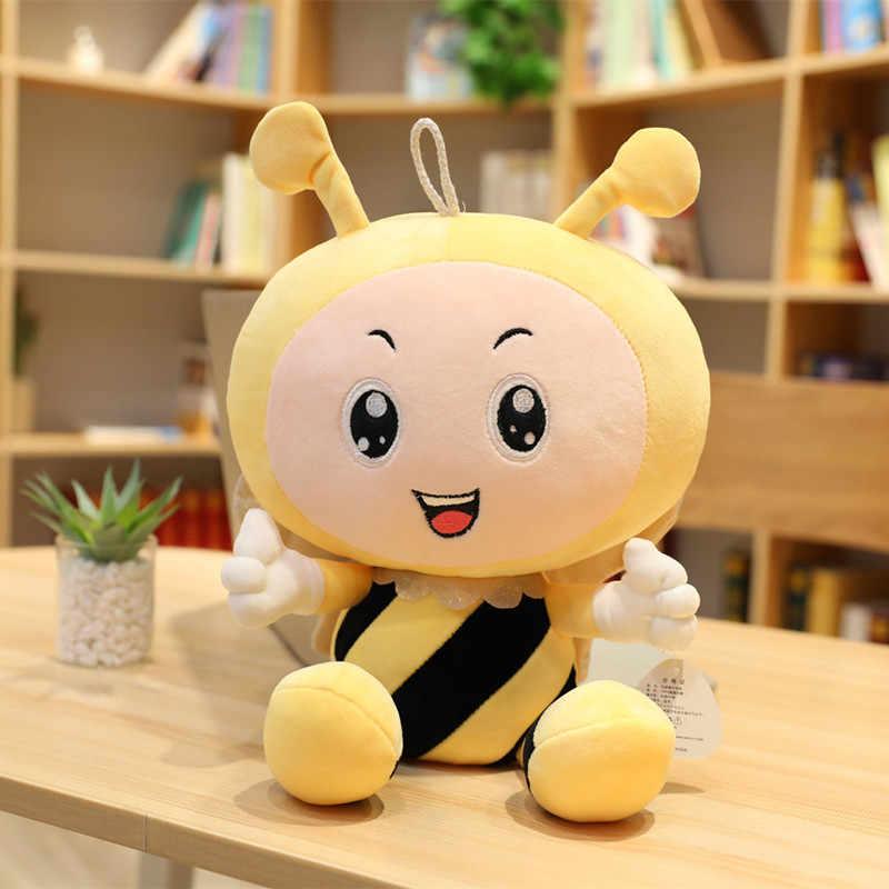 新しい 45/60/80 センチメートルかわいい天使蜂ぬいぐるみ素敵なミツバチソフトぬいぐるみ子供のなだめるおもちゃかわいい子供の誕生日ギフト