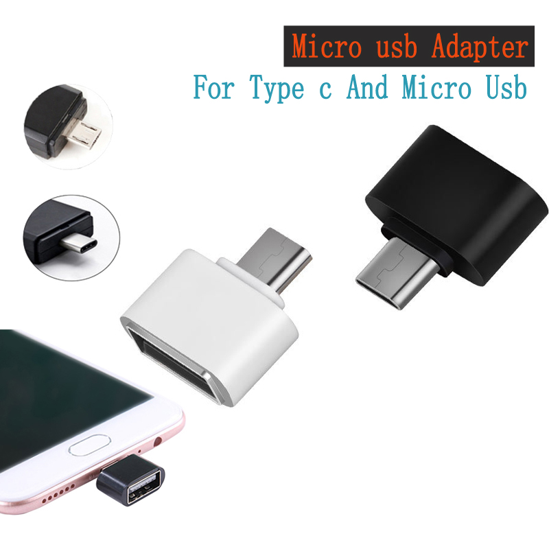 Adaptateur universel USB type-c femelle à micro usb pour Letv Huawei P30 pro pour Samsung s8 s9 note 8 connecteur de téléphone otg micro usb