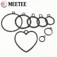 Metal Zipper Puller Meetee 5/10pcs Pendant Round Hardware-Decoration Luggage Pull-Diy-Bag