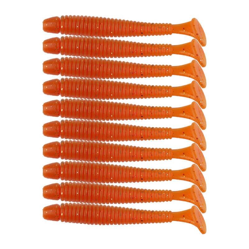 1 sztuk/hurtownie wybuch Sea fishing fishing miękka przynęta 5 cm/0.6g sztuczne T tail gumy silikonowej połowów miękkie przyciąganie Acces