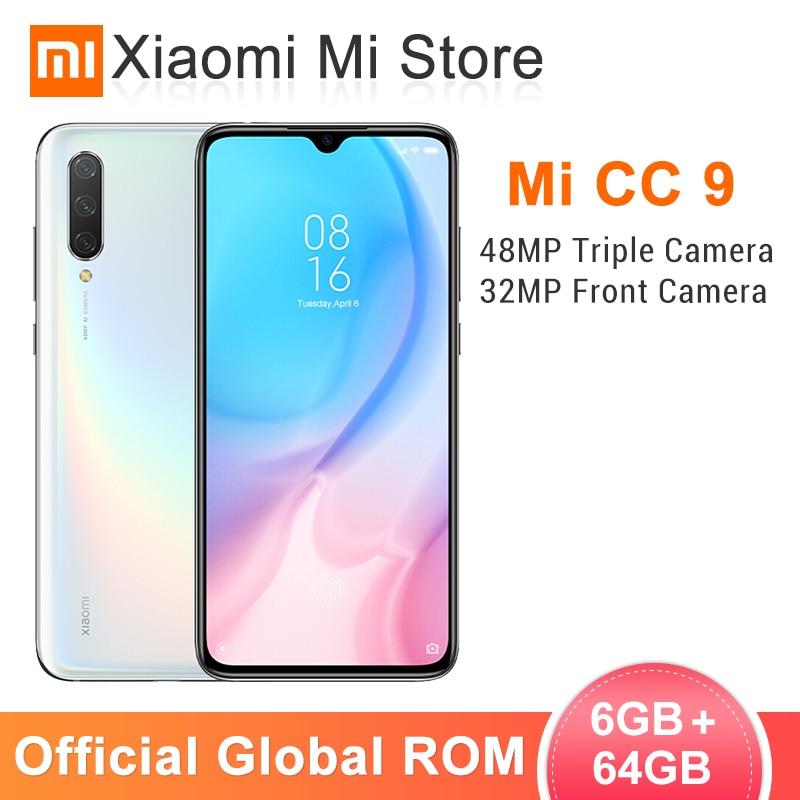 In Stock Global ROM Xiaomi Mi CC9 6GB 64GB Mobile Phone CC 9 Snapdragon 710 6.39