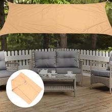 1pc Sun Shade Sail UV Block Waterproof Breathable Garden Patio Protective Canopy