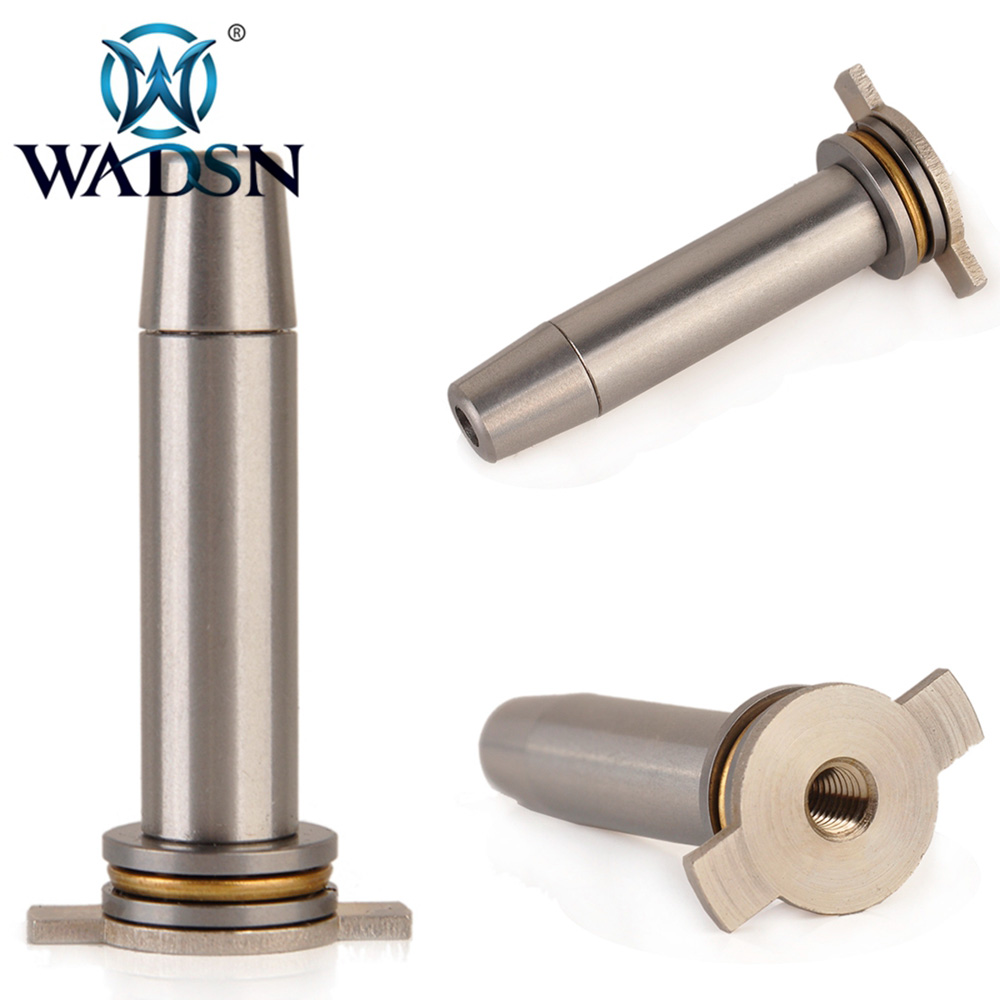 WADSN Tactical Military Vortex Bearing Spring Guide Stainless Steel M.A Spring For Ver.3 Gearbox FB05002 Paintball Accessories