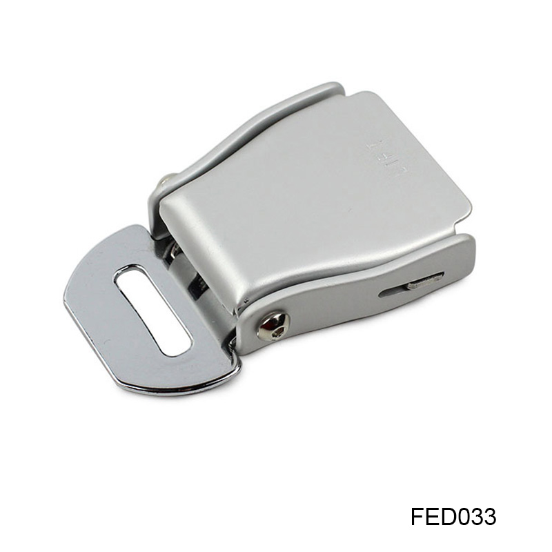2Pcs/Lot Airplane Seatbelt Buckle Alloy Aluminium Buckle High Strength (FED033) image