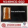 Oryginalny nowy 14 ''Panel wyświetlacza matryca dokładny Model N140HCG-GQ2 Rev.C1 N140HCG-GR2 IPS 72% NTSC full hd 1920x1080 30 pinów