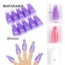 10 3 pçs/set Prego Soak Off Cap Clipe de Plástico Cor (Branco/Roxo/Rosa) Soak-Off Cap Clipe Cap Clipe Ferramenta de Remoção de Unhas de Gel UV Polonês