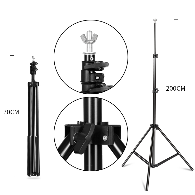 Image 4 - Photography Background Stand Support System Kit for Photo Studio 