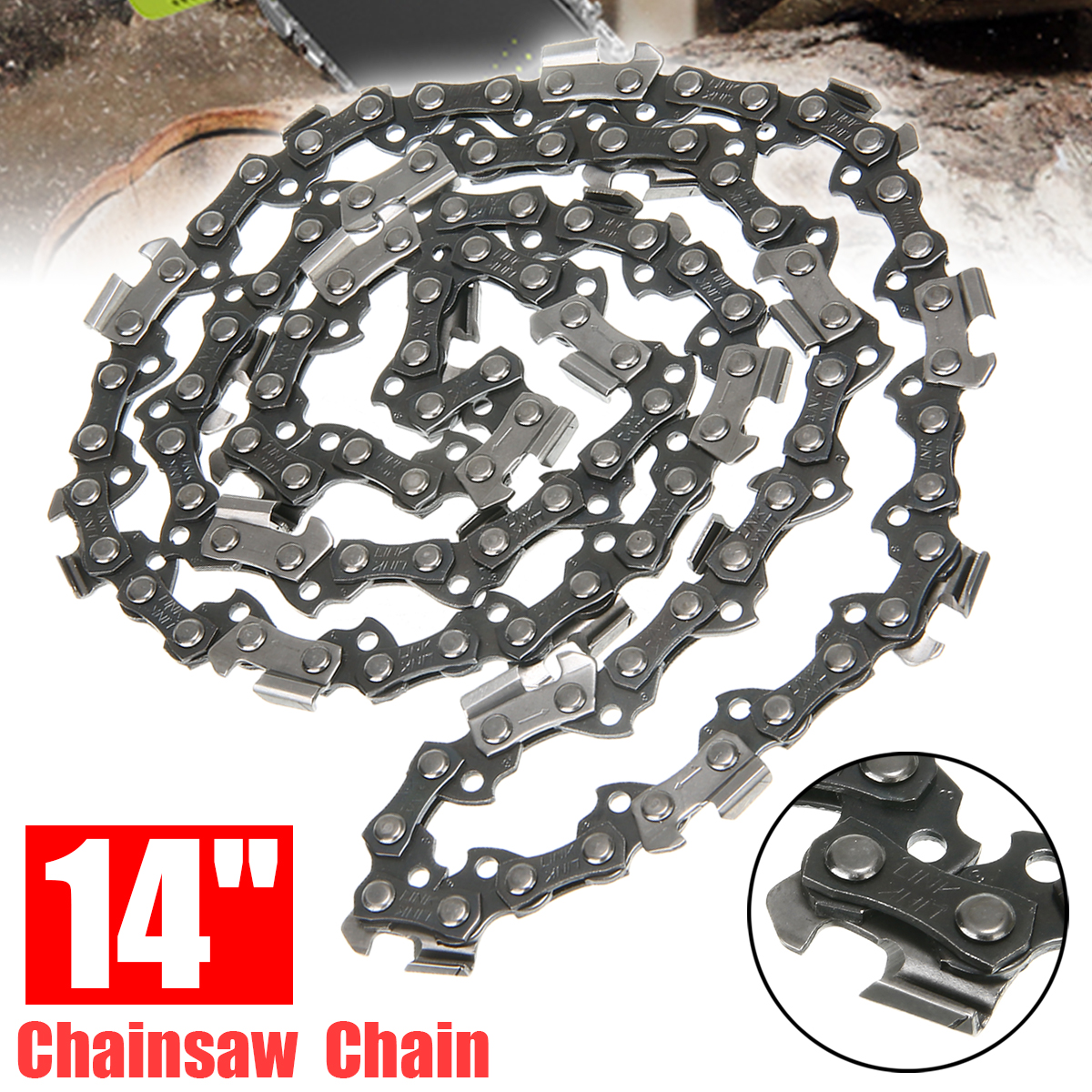 14/'/' Chainsaw Saw Chain Blade 3//8/'/' LP For Stihl 009 010 017 019 023 MS170 MS180