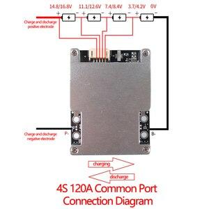 Image 3 - Bms 4S 120A 150A 160A 200A 380A 3.7V 18650 Ijzer Lithium Batterij Bescherming Equalizer Board Polymeer Lifepo4 Bms pcb Met Gebalanceerde