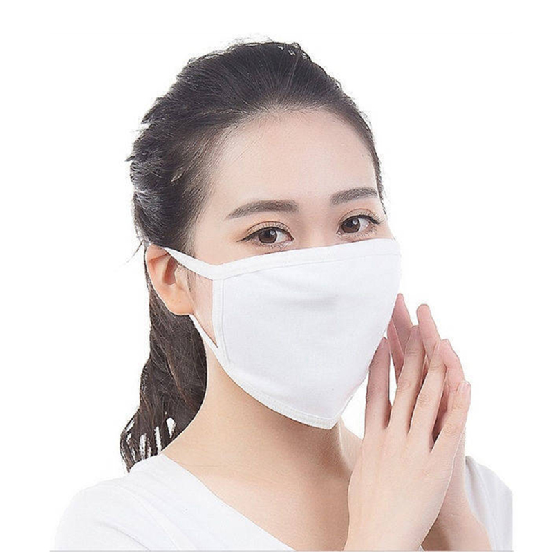 Cotton 10 Piece Man/Woman Mouth Mask Anti Dust And Nose Protection Face Mouth Mask Fashion Thicken Reusable Masks
