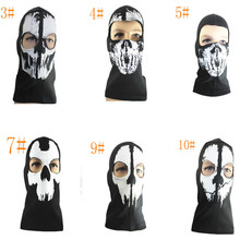 Mask White House Fallen Call of Duty CS Ghost Headgear Mask Motorcycle Riding Hood New face mask scarf цена