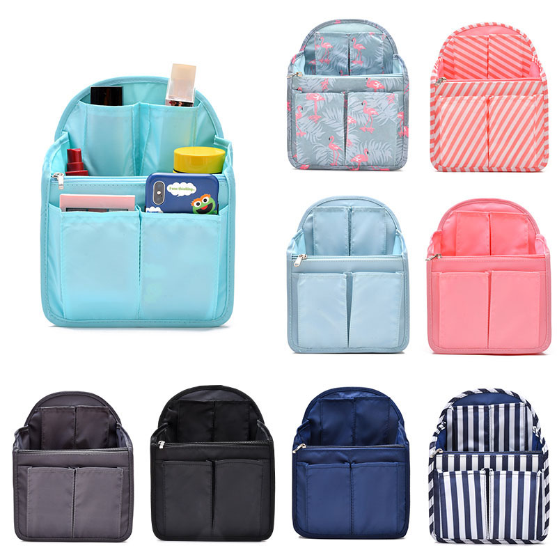 Backpack Liner Organizer Insert Bag In Bag Compartment Sorting Bag Travel Handbag Storage Finishing Package Travel Accessories
