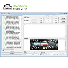 Mtool V1.46 Mendukung 2019 Mobil Odometer Software Koreksi Full Set Dongle + Denso Adaptor + Denso Pin Kabel Kabel + els27(China)